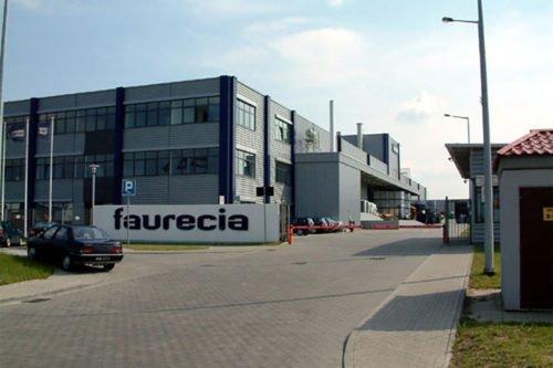 Fabryka Faurecia Legnica