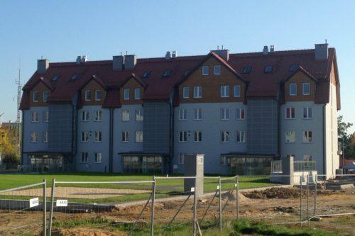 Budynek mieszkalny w Polkowicach